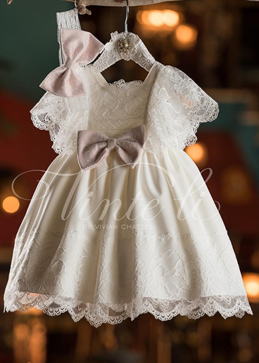 bc970852486 Βαπτιστικό φόρεμα για κορίτσι 293